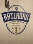Railroad Seafood Station Logo